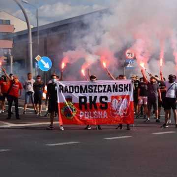 Kibice RKS Radomsko uczcili rocznicę wybuchu Powstania Warszawskiego