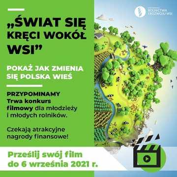 Weź udział w ogólnopolskim konkursie filmowym