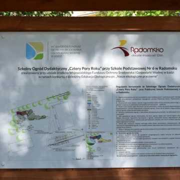 Przy PSP 6 w Radomsku powstał ogród dydaktyczny