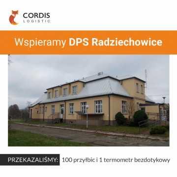 Cordis Logistic z pomocą dla DPS w Radomsku i Radziechowicach