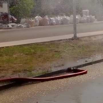 Kolejne kurtyny wodne w Radomsku