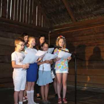 Niedziela w zagrodzie tatarskiej