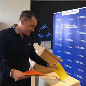 Platforma Obywatelska w powiecie radomszczańskim wybrała przewodniczącego