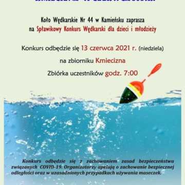 Spławikowy Konkurs Wędkarski dla dzieci i młodzieży