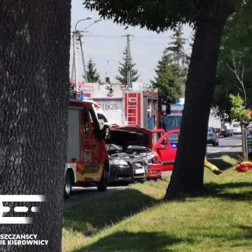Wypadek na ul. Narutowicza w Radomsku. Trzy osoby trafiły do szpitala