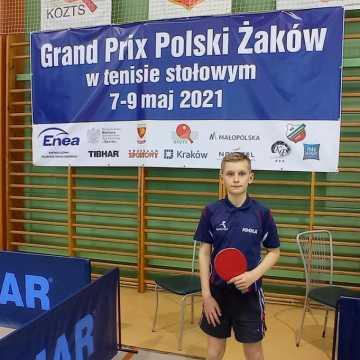 Sebastian Musiał z UMLKS Radomsko wśród najlepszych żaków w Polsce