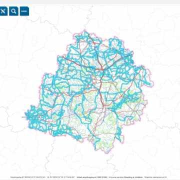 Szlaki rowerowe województwa łódzkiego. Region radomszczański wypada słabo