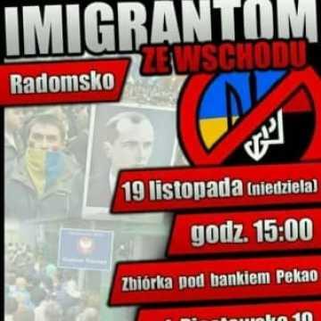 Marsz przeciwko imigrantom ze Wschodu