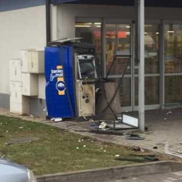 Wysadzili bankomat w Radomsku