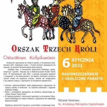 Radomszczański Orszak Trzech Króli tym razem bez barwnego korowodu