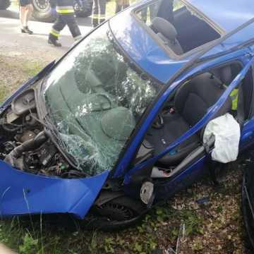 Wypadek w Strzałkowie: 5 osób trafiło do szpitala