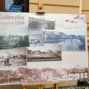 Plenerowa wystawa w rocznicę wybuchu II Wojny Światowej