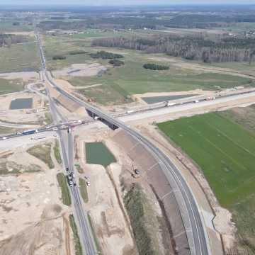 Wschodnia część węzła A1 w Kamieńsku do dyspozycji kierowców