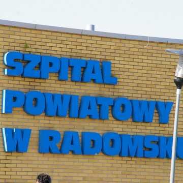 Dziś rejestracja do poradni szpitala w Radomsku czynna krócej
