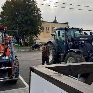Protest rolników w Przedborzu