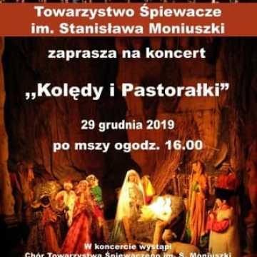 Moniuszkowcy zaśpiewają kolędy i pastorałki