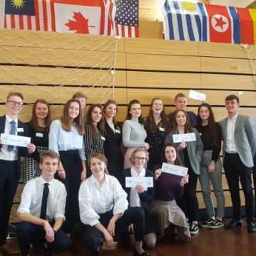 Młodzież I LO delegatami ONZ