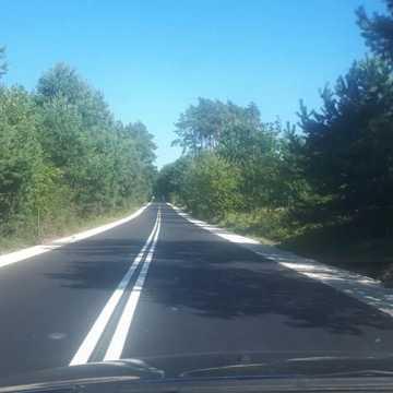 Kolejny odcinek drogi Piskorzeniec-Przedbórz jak nowy