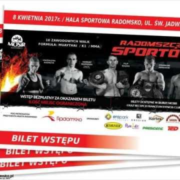 Bilety na Galę Sportów Walki dostępne