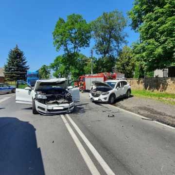 [AKTUALIZACJA] DK42: jedna osoba ranna w wypadku. Są utrudnienia