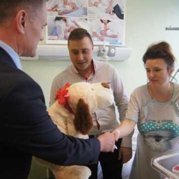Amelia pierwszym dzieckiem urodzonym w 2019 roku w szpitalu w Radomsku