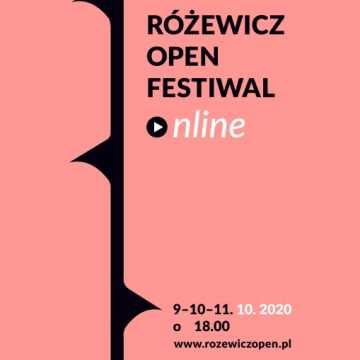 Program Różewicz Open Festiwal Online