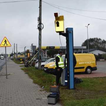Uwaga kierowcy! Fotoradar w Kamieńsku już działa