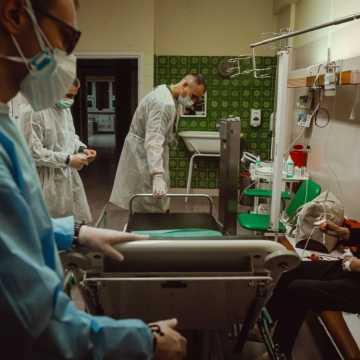 Likwidacja łóżek covidowych w szpitalach w woj. łódzkim