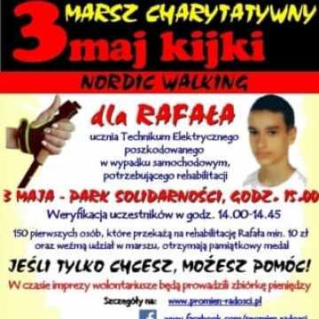 "Marsz Charytatywny ""3maj kijki Nordic Walking"""