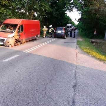 13-letnia rowerzystka została ranna. Helikopter przetransportował ją do szpitala