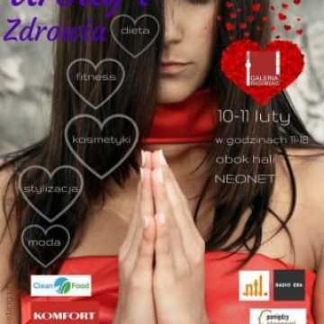 10 i 11 lutego Walentynkowe Targi Zdrowia i Urody