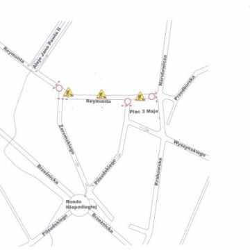 Uwaga! Ulica Reymonta zamknięta od 17 maja