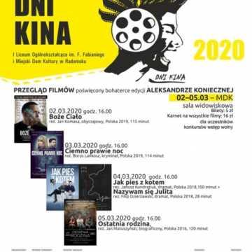 Kino MDK zaprasza. Repertuar od 28 lutego do 5 marca
