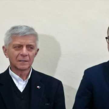 Europoseł Marek Belka otworzył w Radomsku swoje biuro