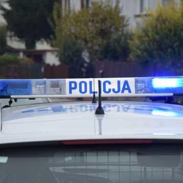W Kamieńsku pijany kierowca spowodował wypadek