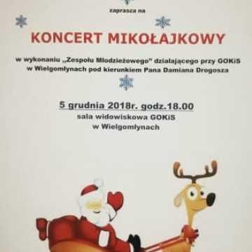 Koncert Mikołajkowy w Wielgomłynach