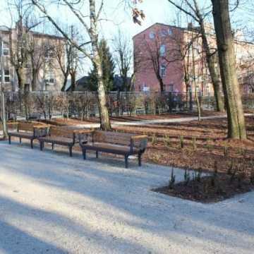 II etap rewaloryzacji parku Świętojańskiego
