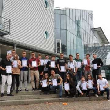 Uczniowie z ZSE-E zakończyli staż w Niemczech