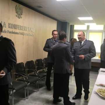 Spotkanie opłatkowe w Komendzie Powiatowej Policji w Radomsku