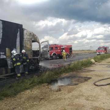 Policja podała wstępną przyczynę wypadku w Bogusławicach na DK1