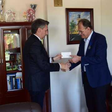 Prezydent Radomska otrzymał odznaczenie
