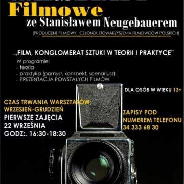 Warsztaty Filmowe ze Stanisławem Neugebauerem w GOK Kłomnice