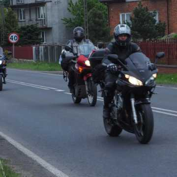 Rajd Motocyklowy Weteranów dotarł do powiatu radomszczańskiego