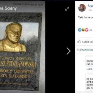 Profanacja wizerunku Jana Pawła II? Ostry komentarz radnego Szymona Zyberynga