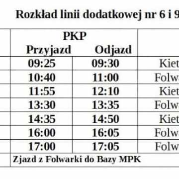 Darmowa komunikacja miejska 1 listopada i dodatkowe kursy autobusów